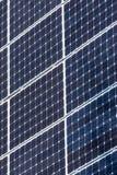 Πράσινες επιτροπές ηλιακής ενέργειας Στοκ φωτογραφίες με δικαίωμα ελεύθερης χρήσης