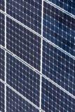 Πράσινες επιτροπές ηλιακής ενέργειας Στοκ Φωτογραφίες