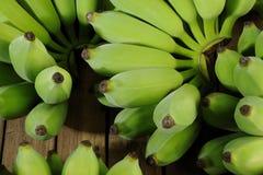 Πράσινες μπανάνες Στοκ φωτογραφία με δικαίωμα ελεύθερης χρήσης