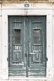 Πράσινες πόρτες Στοκ Φωτογραφία