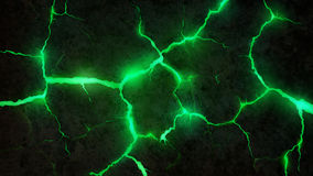 Πράσινες ρωγμές Υπόβαθρο Στοκ Εικόνα