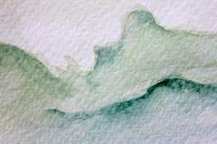 Πράσινες συστάσεις 8 Watercolour απεικόνιση αποθεμάτων