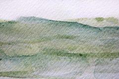 Πράσινες συστάσεις 13 Watercolour διανυσματική απεικόνιση