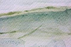 Πράσινες συστάσεις 12 Watercolour διανυσματική απεικόνιση