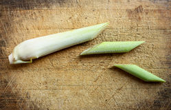 Πράσινες φέτες χλόης λεμονιών Στοκ φωτογραφίες με δικαίωμα ελεύθερης χρήσης
