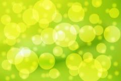 Πράσινες φυσαλίδες Στοκ Φωτογραφία