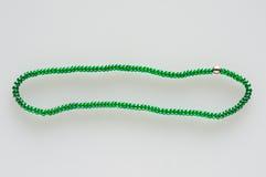 Πράσινες χάντρες το ένα με το άλλο Στοκ φωτογραφίες με δικαίωμα ελεύθερης χρήσης