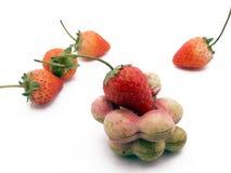 Πράσινες tamarind και φράουλα στοκ φωτογραφίες με δικαίωμα ελεύθερης χρήσης