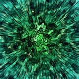 Πράσινη έκρηξη Στοκ φωτογραφία με δικαίωμα ελεύθερης χρήσης