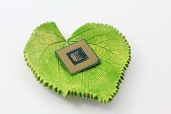 Πράσινη έννοια τεχνολογίας στοκ φωτογραφία με δικαίωμα ελεύθερης χρήσης