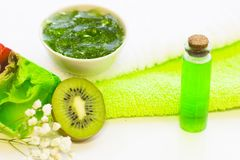 Πράσινη έννοια Aromatherapy Στοκ εικόνες με δικαίωμα ελεύθερης χρήσης