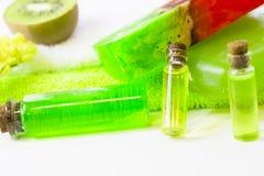 Πράσινη έννοια Aromatherapy Στοκ εικόνα με δικαίωμα ελεύθερης χρήσης