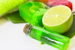 Πράσινη έννοια Aromatherapy Στοκ φωτογραφία με δικαίωμα ελεύθερης χρήσης