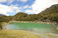 πράσινη λίμνη Στοκ Εικόνες