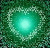 πράσινη αγάπη πλαισίων Χρισ&tau απεικόνιση αποθεμάτων