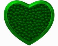 Πράσινη αγάπη στο περιβάλλον Στοκ εικόνα με δικαίωμα ελεύθερης χρήσης