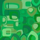 πράσινη αναδρομική ταπετσ&a Στοκ Εικόνα