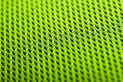 Πράσινη ανασκόπηση Σύσταση υφάσματος πλέγματος Μακροεντολή στοκ φωτογραφίες με δικαίωμα ελεύθερης χρήσης