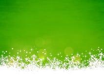 Πράσινη ανασκόπηση Χριστουγέννων Στοκ φωτογραφία με δικαίωμα ελεύθερης χρήσης
