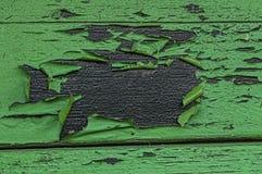 Πράσινη αποφλοίωση χρωμάτων μακριά Στοκ εικόνα με δικαίωμα ελεύθερης χρήσης