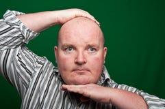 πράσινη αρσενική υπέρβαρη &omicro Στοκ Εικόνες