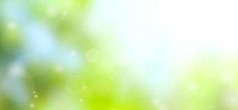 Πράσινη αφηρημένη θαμπάδα υποβάθρου Στοκ εικόνα με δικαίωμα ελεύθερης χρήσης