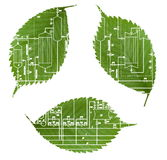 πράσινη βιομηχανία ανακύκλ& Στοκ Φωτογραφία