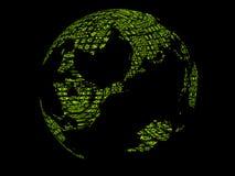 Πράσινη γήινη περίληψη Στοκ φωτογραφία με δικαίωμα ελεύθερης χρήσης