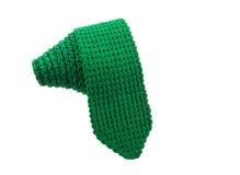 Πράσινη γραβάτα νημάτων Στοκ Εικόνες