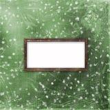 πράσινη διακόσμηση πλαισίω απεικόνιση αποθεμάτων