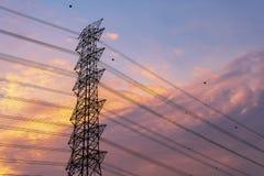 Πράσινη ενεργειακή έννοια, σταθμός ηλεκτρικής ενέργειας στοκ φωτογραφίες με δικαίωμα ελεύθερης χρήσης