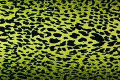 Πράσινη λεοπάρδαλη, ιαγουάρος, υπόβαθρο δερμάτων λυγξ Στοκ Εικόνα