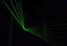 Πράσινη επίδραση λέιζερ Στοκ Φωτογραφία