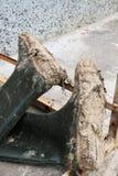 πράσινη εργασία μποτών βρώμικα Στοκ εικόνα με δικαίωμα ελεύθερης χρήσης