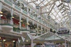 Πράσινη λεωφόρος αγορών του Stephan στο Δουβλίνο Ιρλανδία Στοκ εικόνα με δικαίωμα ελεύθερης χρήσης