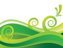 πράσινη θάλασσα διανυσματική απεικόνιση