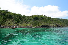 πράσινη θάλασσα στοκ φωτογραφίες