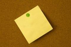 πράσινη θέση καρφιτσών Στοκ φωτογραφία με δικαίωμα ελεύθερης χρήσης