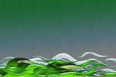πράσινη θύελλα στοκ φωτογραφίες