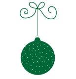 πράσινη διακόσμηση Στοκ Φωτογραφίες