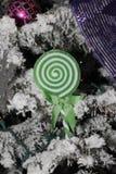 Πράσινη διακόσμηση lollipop Στοκ Φωτογραφία