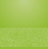 Πράσινη ιαπωνική διακόσμηση Στοκ Εικόνες