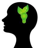πράσινη ιδέα Στοκ Εικόνες