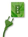 Πράσινη ισχύς Στοκ Εικόνες