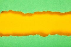 Πράσινη και κίτρινη σύσταση εγγράφου Στοκ Εικόνες