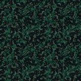 Πράσινη και καφετιά σκοτεινή δασική κάλυψη διανυσματική απεικόνιση
