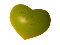πράσινη καρδιά Στοκ Φωτογραφίες