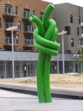 πράσινη καλημάνα Στοκ εικόνα με δικαίωμα ελεύθερης χρήσης