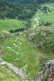 πράσινη κοιλάδα Στοκ εικόνες με δικαίωμα ελεύθερης χρήσης