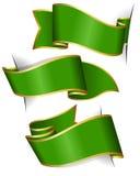 πράσινη κορδέλλα συλλο&ga Στοκ εικόνα με δικαίωμα ελεύθερης χρήσης